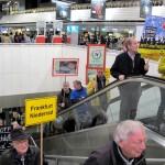 Ankunft im Terminal